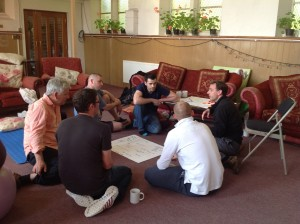 Natal Hypnotherapy dads working together